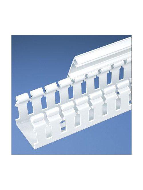 PAN H2X4WH6 Slot Hinge Duct,PVC,2X4