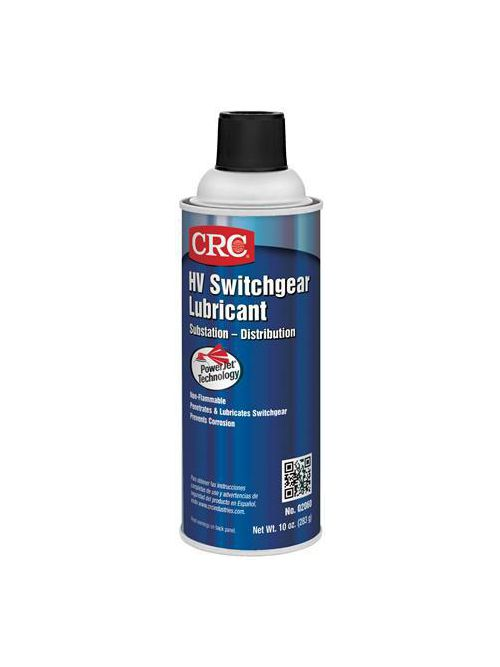CRC Industries 02060 16 oz Aerosol Switchgear Lubricant