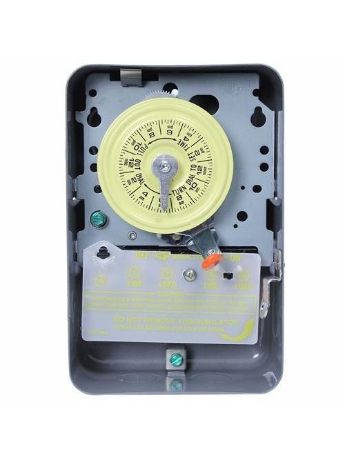Intermatic T104-20 NEMA 1 208 to 277 VAC 60 Hz 40 Amp DPST Mechanical Water Heater Time Switch
