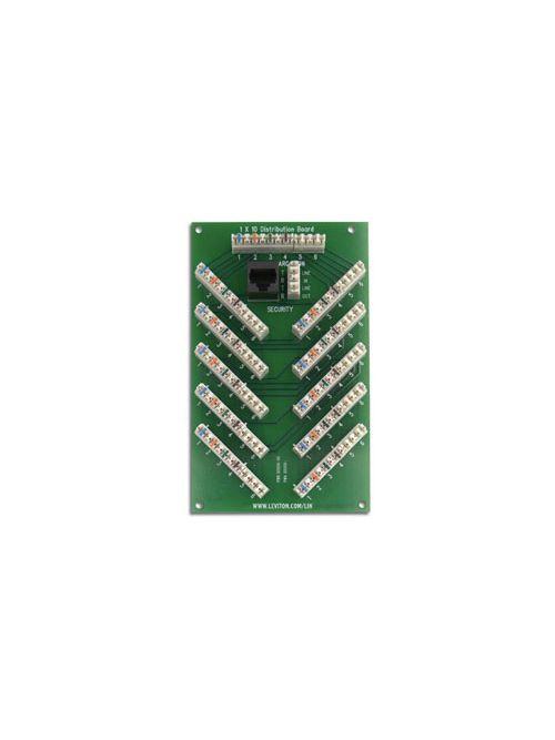 LEV 47609-S10 1X10 6-LINE TEL SECUR