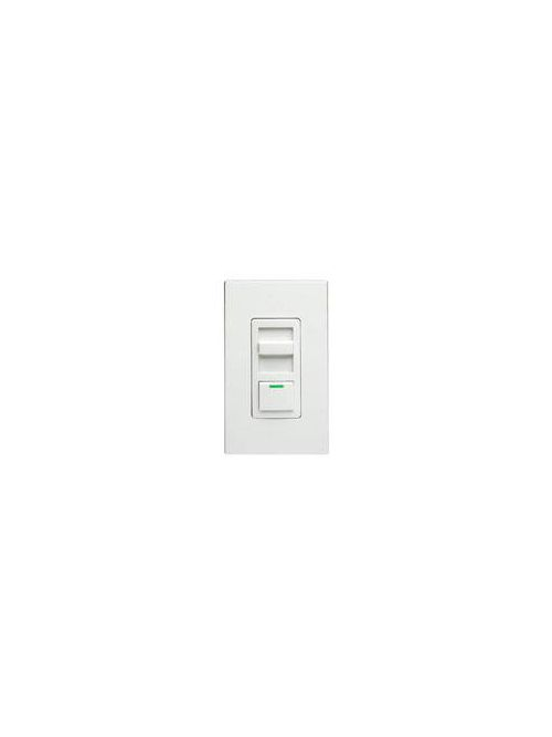 Leviton IPF05-1LZ 120 VAC 5 Amp 1-Pole White/Ivory/Light Almond Electro Mechanical Preset Slide Fan Speed Controller