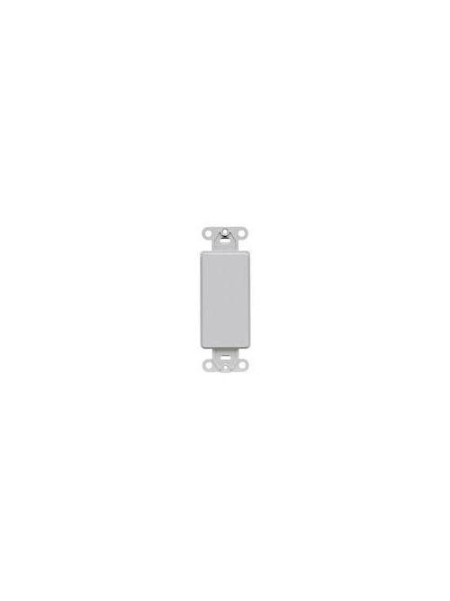 Leviton 80414-GY Grey QuickPort Decora Multimedia Insert