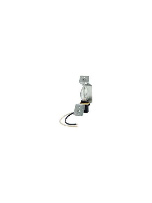Leviton 2152 4 W Standard Jewel/Louver Plate Lampholder Assembly with 2.5 Inch Box
