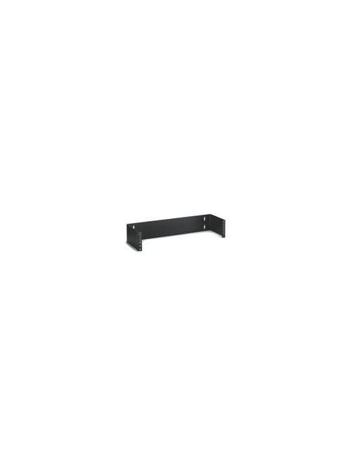 Leviton 49251-W63 6 x 5.25 Inch 3-Rack Unit Wall Mount Hinged Cable Management Bracket