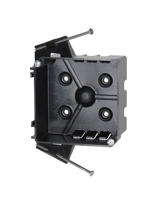Allied Moulded Products PJ-20N 1-5/8 x 4 Inch 20.5 In? PVC Square Wall Junction Box