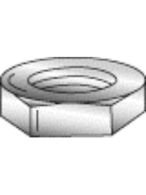 Minerallac 70135J 3/8-16 Inch 18-8 Stainless Steel Hex Nut