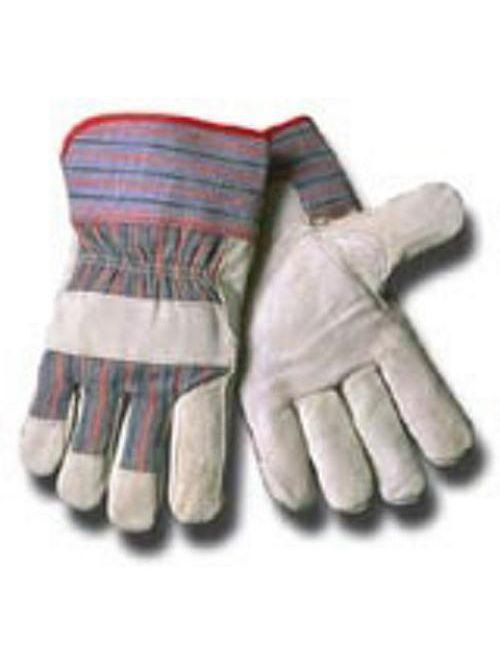 Minerallac 67600 Large Split Leather Wing Thumb Work Gloves
