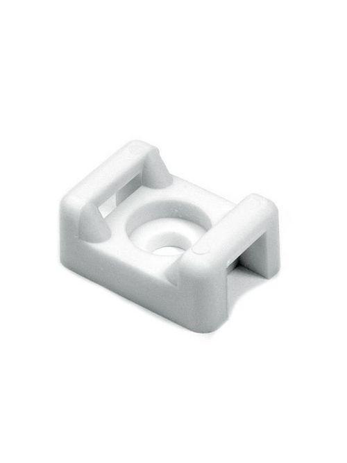 Hellermann Tyton CTM010C2 0.578 x 0.375 x 0.266 Inch White Polyamide 6.6 # 6 Screw Cable Tie Mounting Base