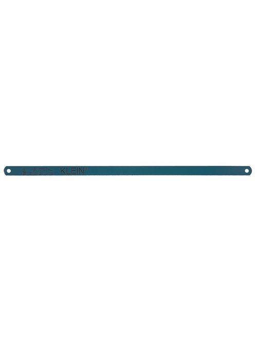Klein Tools 1224BI 12 Inch 24 TPI High Speed Steel Tooth Blue Bi-Metal Blade