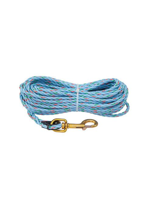 Klein Tools 1804-60 5/16 Inch x 75 Foot 250 lb Polypropylene Hand Line with Snap Hook