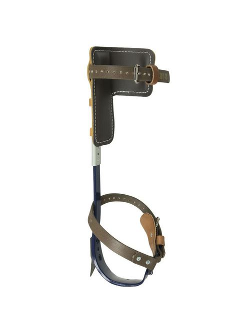 Klein Tools CN1972AR 15 to 19 Inch Adjustable Pole Climber with 1-1/2 Inch Gaffs Complete Set