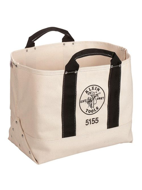 Klein Tools 5155 17 x 12 x 9 Inch Canvas Tote Tool Bag