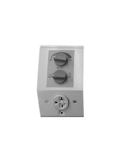 Air King BKT1BW Baseboard Built-In Thermostat Kit