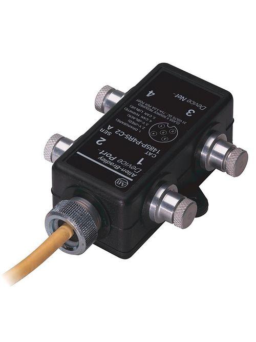 Allen-Bradley 1485P-P4T5-T5 4-Port Thick Trunk Device Box Tap