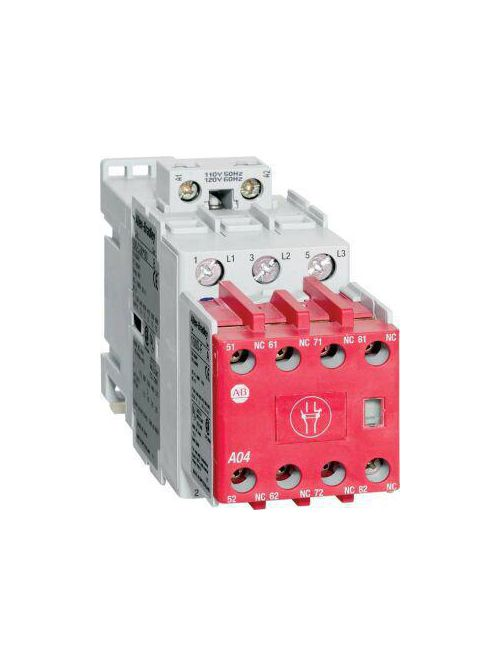 Allen Bradley 100S-C16DJ404C 16 Amp MCS IEC Safety Contactor
