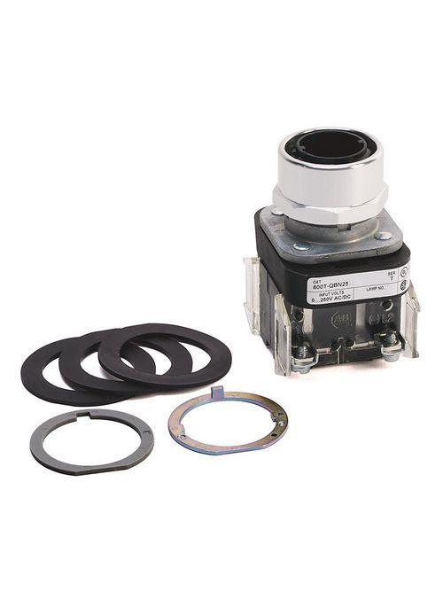 Allen-Bradley 800T-QBN25 30.5 mm Type 4/13 No Lamp 1 NC Illuminated Momentary Contact Push Button