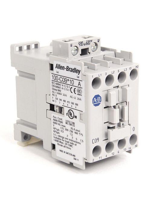 Allen-Bradley 100-C09KJ10 9 Amp IEC Contactor