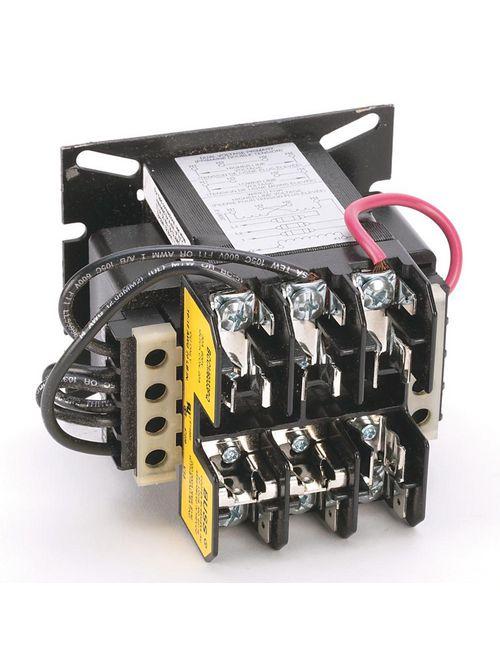 Allen-Bradley 1497-B-AXJK-0-N 80 VA 240 Volt 60 Hz/220 Volt 50 Hz Primary 24 Volt 50/60 Hz Secondary CCT Standard Transformer