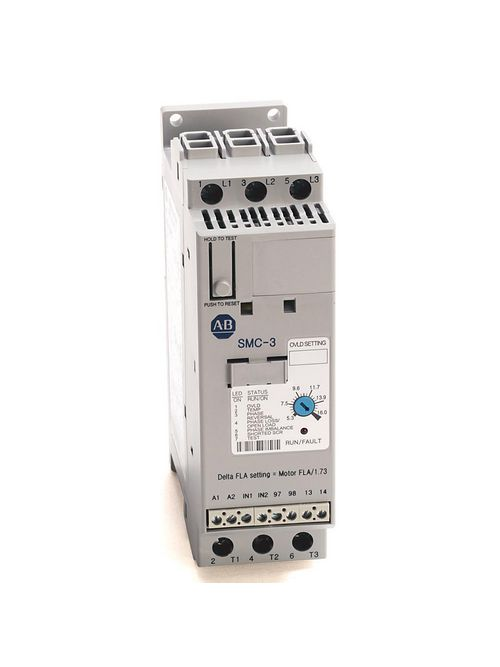 Allen-Bradley 150-C3NCD 200 to 600 VAC 3-Phase 3 Amp Open Type Solid State Smart Motor Controller