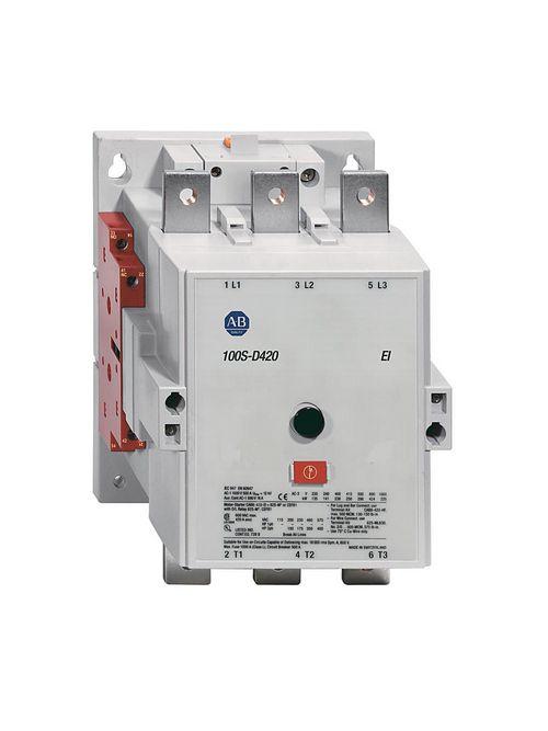 Allen Bradley 100S-D420ED22BC 420 Amp MCS D Safety Contactor