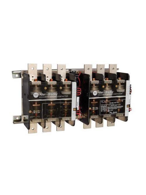 Allen-Bradley 1104C-COD 1104C Reversing Vacuum Contactor, 400A Open Unit, 120V 50/60 Hz Control Voltage