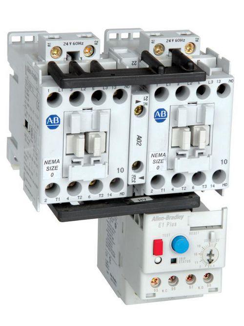 Allen Bradley 305-AOEJ-EEC 24 VDC Coil Open NEMA Size 0 AC Starter