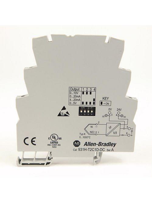 Allen Bradley 931H-T2C1D-DC Type K Thermocouple Signal Conditioner
