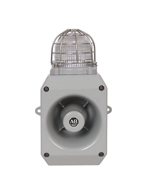 A-B 855HM-CGMA10DL3 Metal Horn with LED Beacon 120V AC