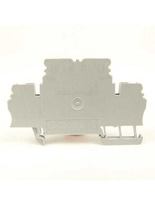 Allen-Bradley 1492-LD2 1-1/2 mm Double Level Terminal Block