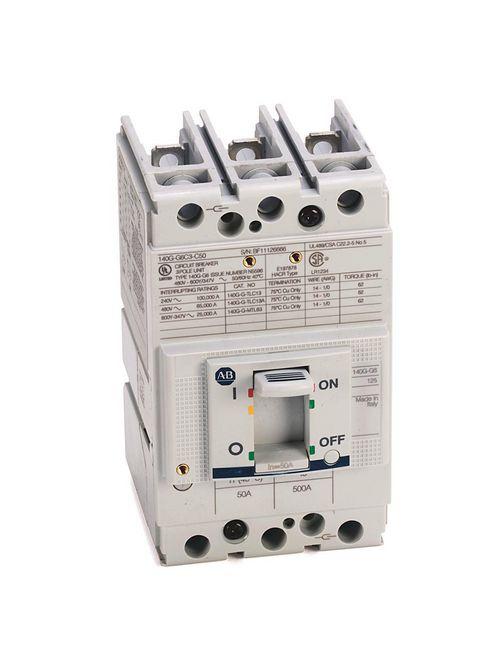 Allen Bradley 140G-G6C3-C45 125 Amp G-Frame Molded Case Circuit Breaker