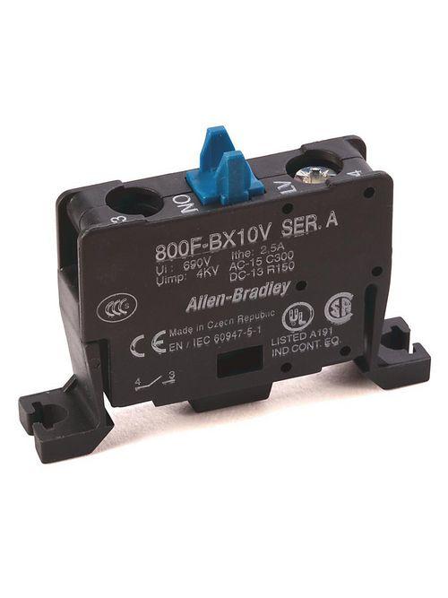 A-B 800F-BX10V 22mm Contact Block 8