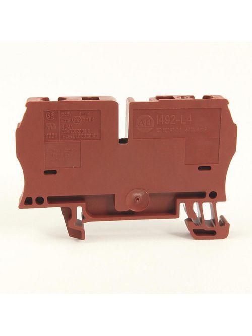 A-B 1492-L4-BR IEC Term Blck 6.1x62