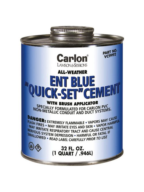 CL VC9992 ENT BLUE CEMENT W/BRUSH -
