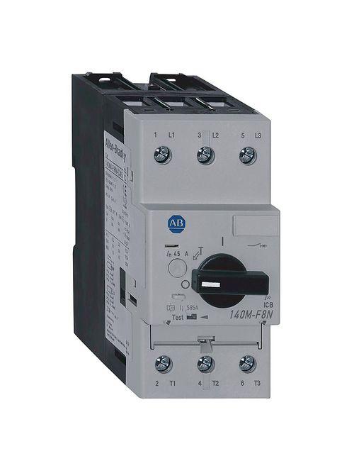 Allen-Bradley 140M-F8E-C45 MPCB 32 - 45 Amp High Performance Frame Size F Magnetic Trip