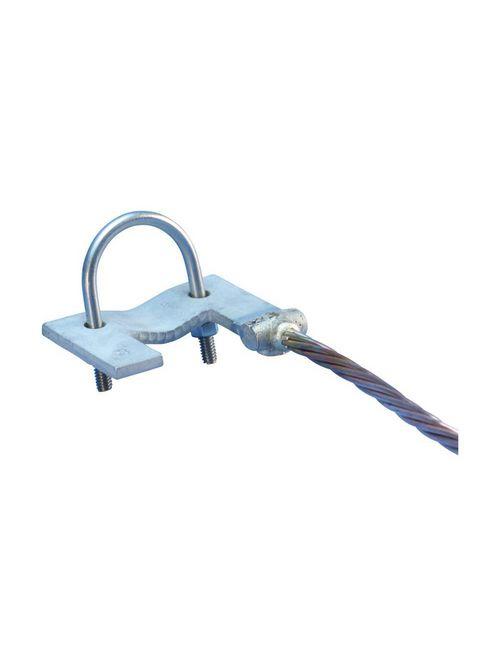 ERC A235F2C2LH CLAMP,FENCE GATE,SGL