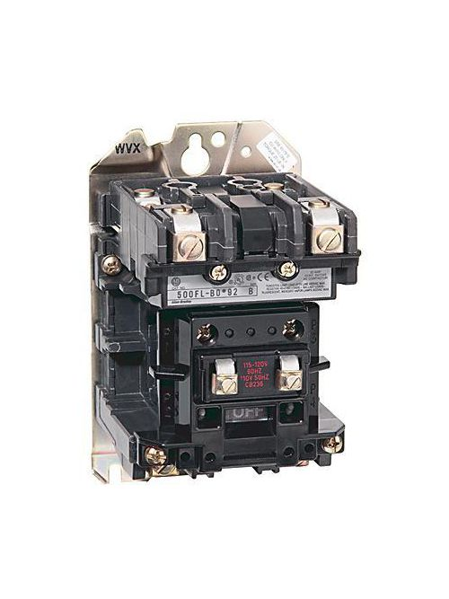 Allen-Bradley 500FL-DOD92 NEMA Size 3 Feed-Through Lighting Contactor