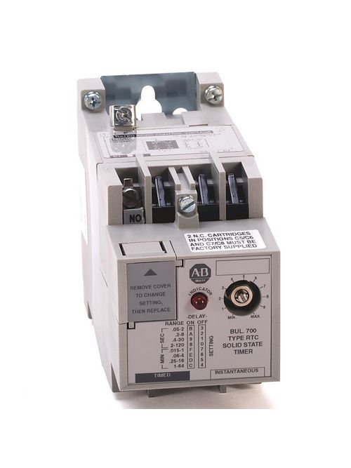 Allen Bradley 700-RTC00000U1 Solid State Timing Relay