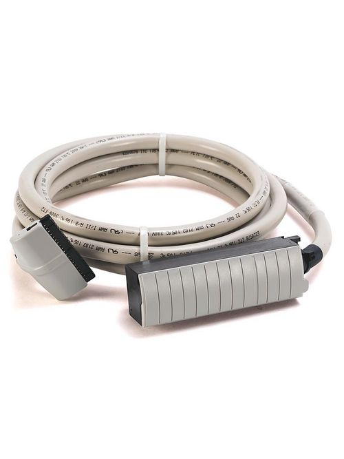 Allen-Bradley 1492-CABLE025Z 2.5 m 300 Volt 22 AWG 40-Conductor Pre-Wired Digital Interface Cable