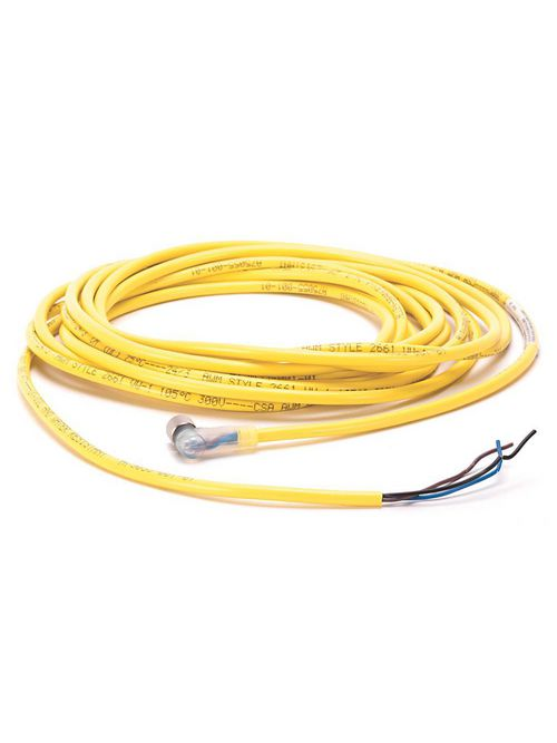 Allen-Bradley 889P-R4AB-5 Pico M8 Female Right Angle 4 Pin PVC Cable Yellow Unshielded Cable