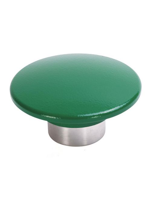 Allen-Bradley 800T-N248G 30 mm Push Button Mushroom Jumbo Green Black Cap