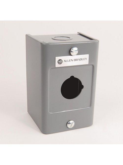 Allen-Bradley 800H-1HZ4CY 30 mm Push Button Enclosure