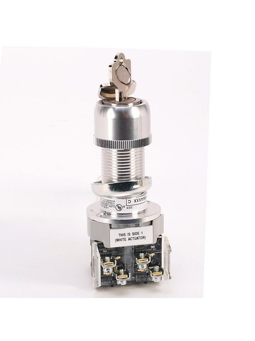 Allen-Bradley 800H-HP31KB6 Type 7&9 Selector Switch Push Button