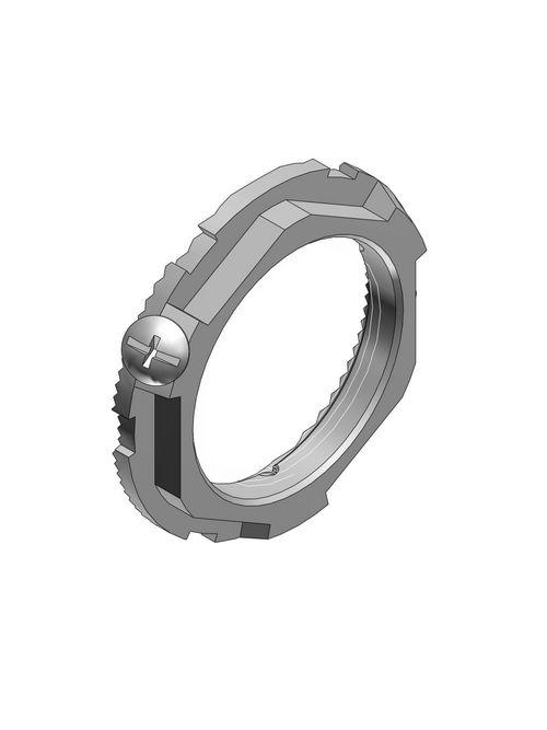 Thomas & Betts L100GRA-TB 1 Inch Aluminum Ground Locknut