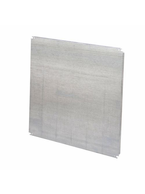 B-Line Series 3024P 22 x 28 Inch 12 Gauge White Polyester Powder Painted Steel Enclosure Panel