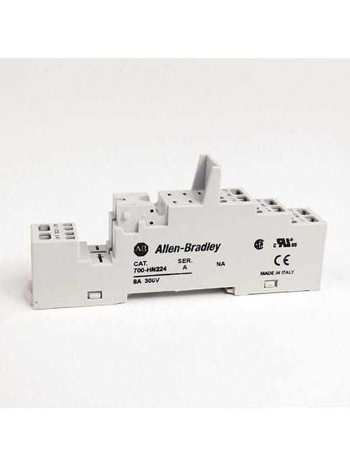 Allen-Bradley 700-HN224 700-Hk 2-Pole Spring Clamp Terminal Socket