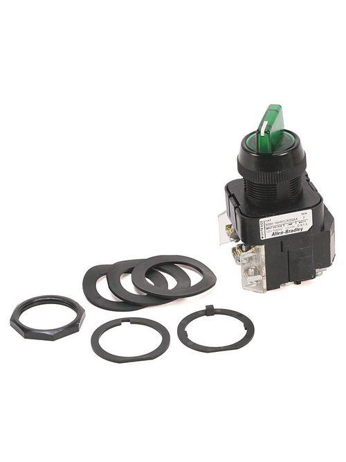 Allen-Bradley 800H-16JRG2KB7AX 30 mm Selector Switch Push Button
