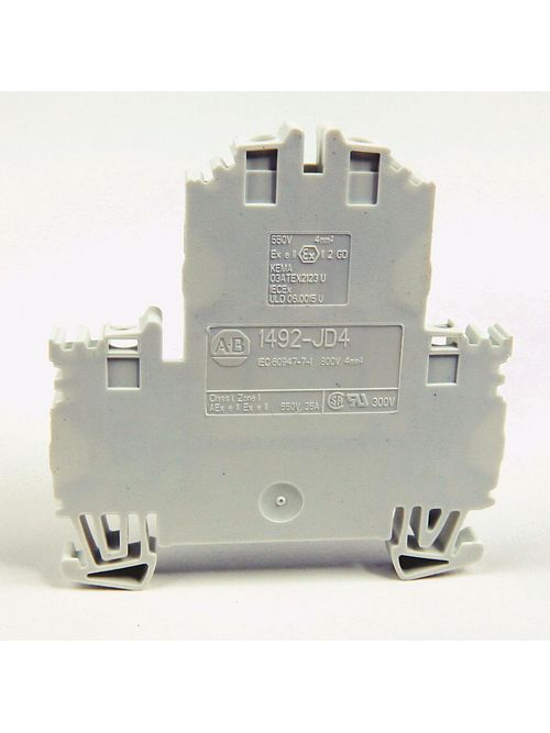 Allen-Bradley 1492-JD4 4 mm Double Level Terminal Block
