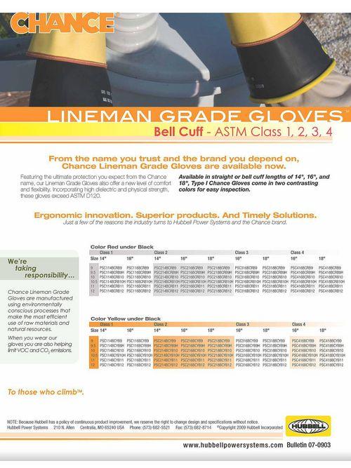 CHANCE PSC316BCYB9H CHANCE BELL CLA