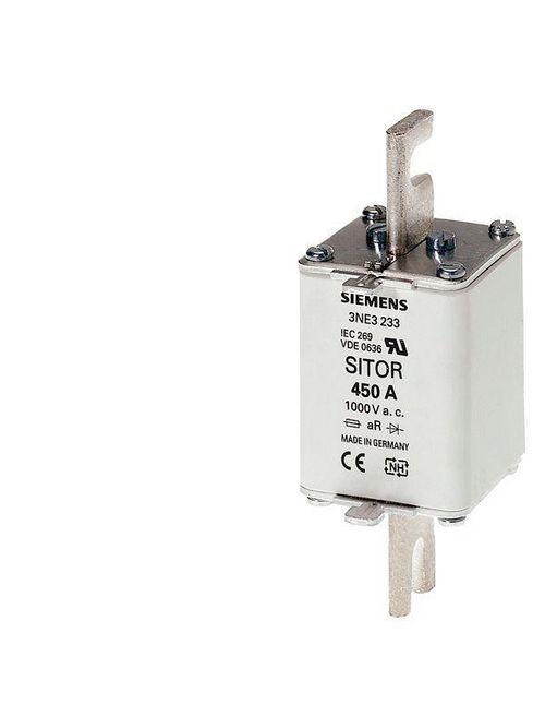 Siemens Industry 3NE3227 250 Amp 1000 VAC 100 kA Vertical Mount Low Voltage HRC Fuse Link