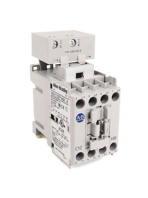 Allen-Bradley 100-C12ED10 12 Amp IEC Contactor